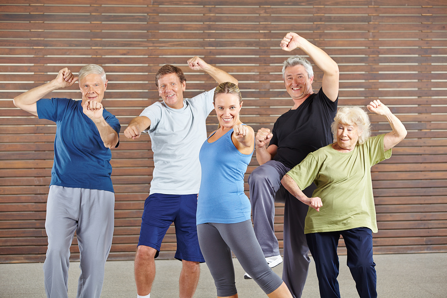 Home Care Services in Bloomfield PA: Senior Exercise
