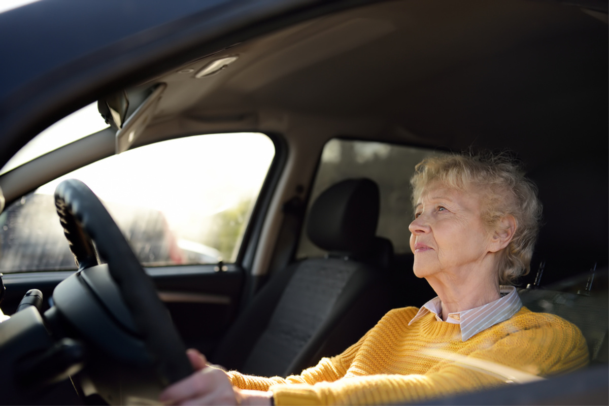 Home Health Care in Greentree PA: Senior Driving